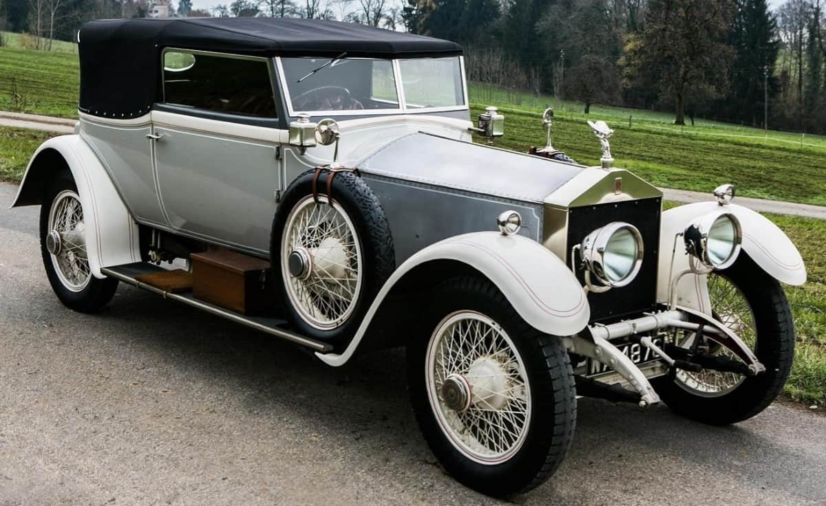 1907 Rolls-Royce Silver Ghost - right front view