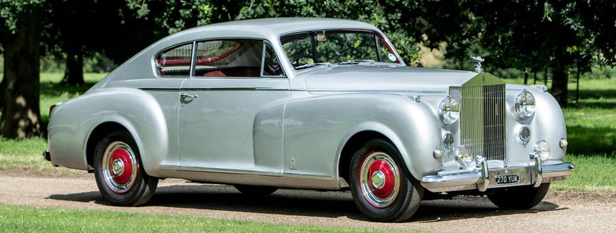 1951 Rolls-Royce Silver Dawn - right side view