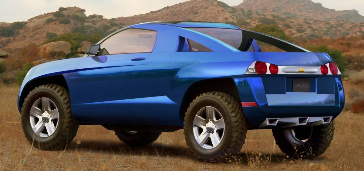 2002 Chevrolet Borrego - concept