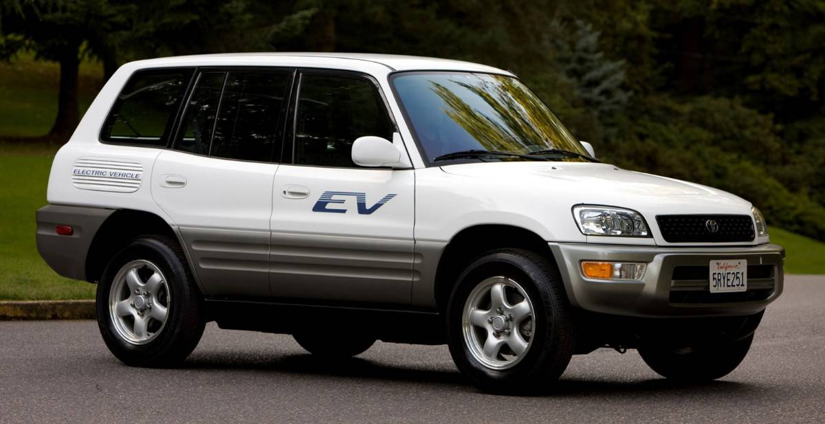 2003 Toyota Rav4 EV - electric vehicle