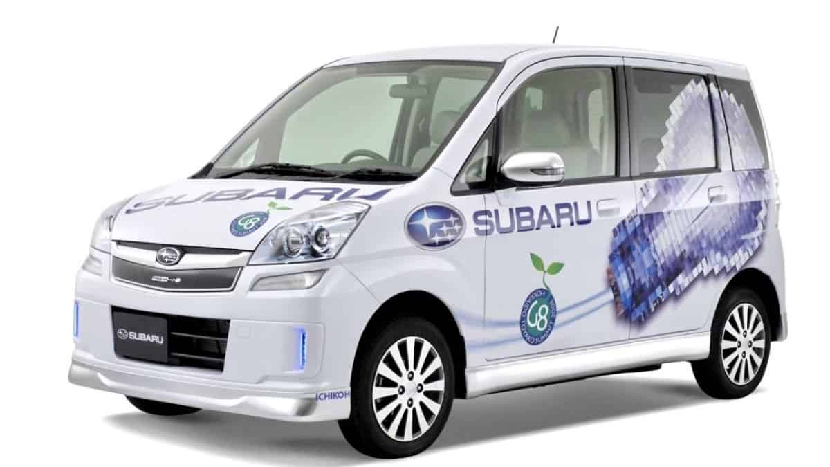 2007 Subaru Stella - electric vehicle