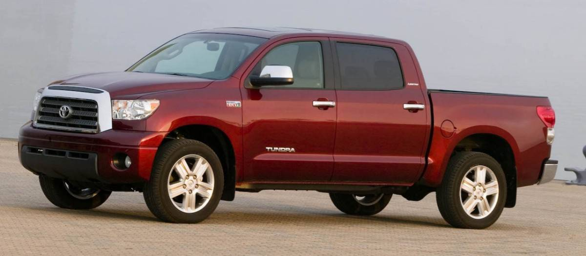 2008 Toyota Tundra - driver's side view