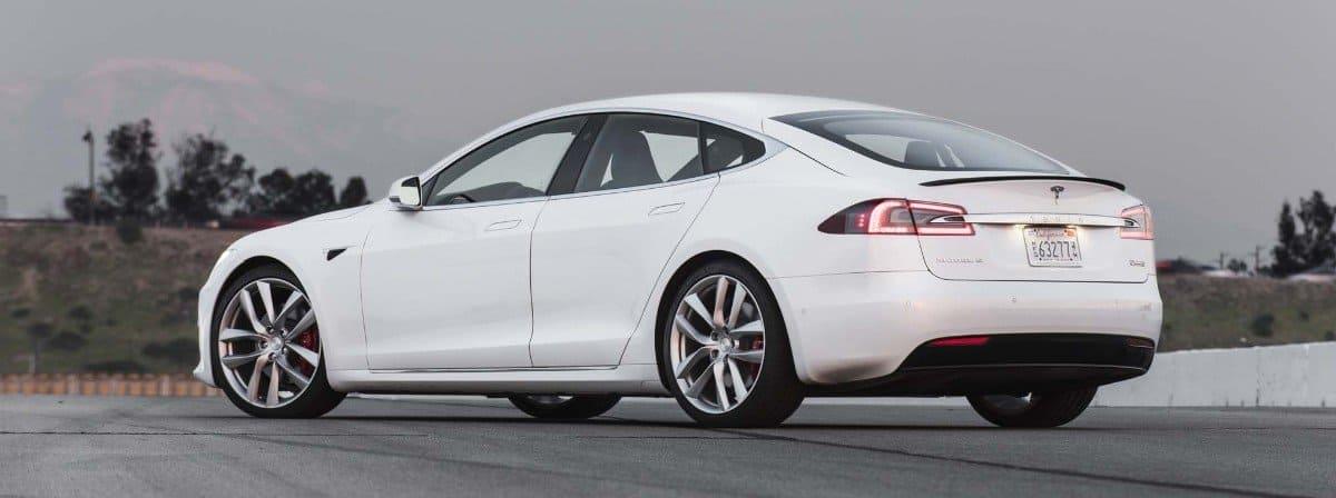 2017 Tesla Model S - drivers side rear view