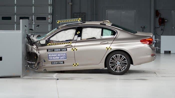 5 Series crash test