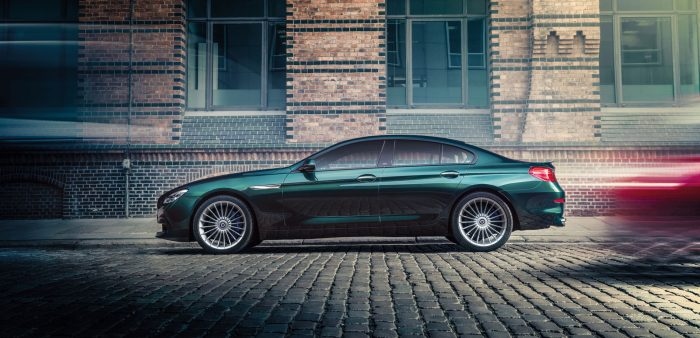 The Alpina B6 is a modified 6 series