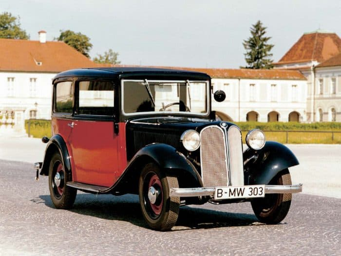 The iconic split kidney grille dates all the way back to 1933 with the BMW 303