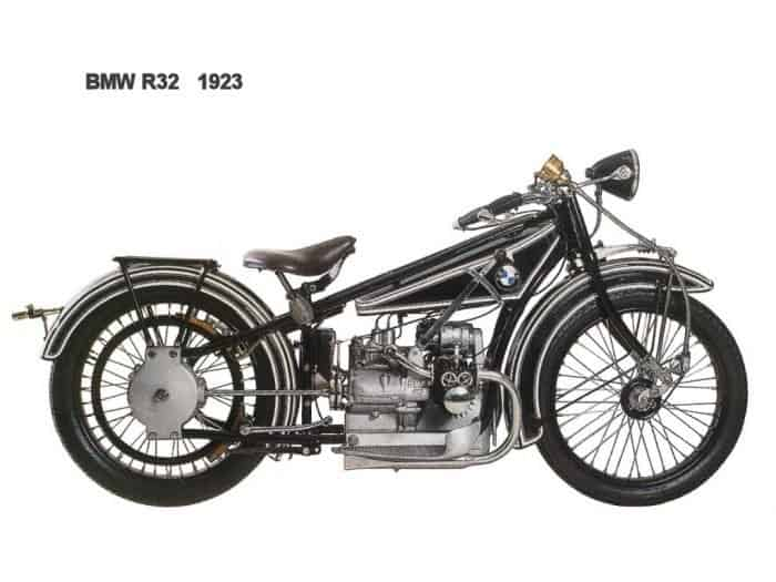 The R32 Motorcycle was BMW's first real success