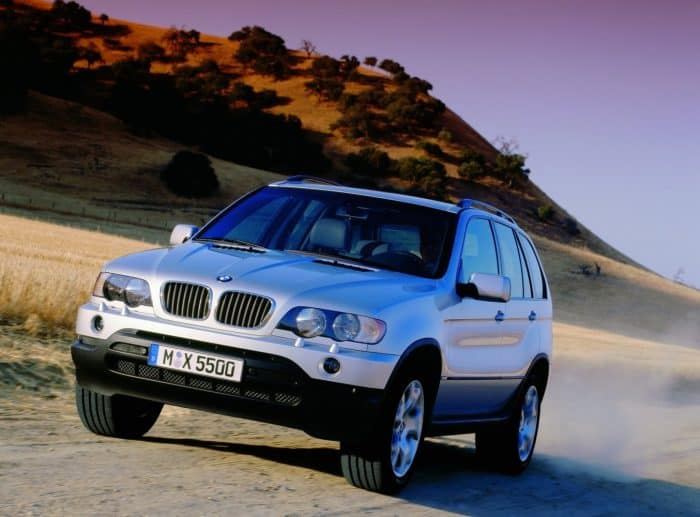 The X5 was BMW's first SUV and it outperformed everyone's expectations