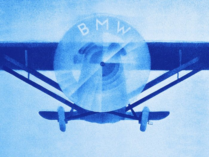 What most people think of when thinking of the BMW logo