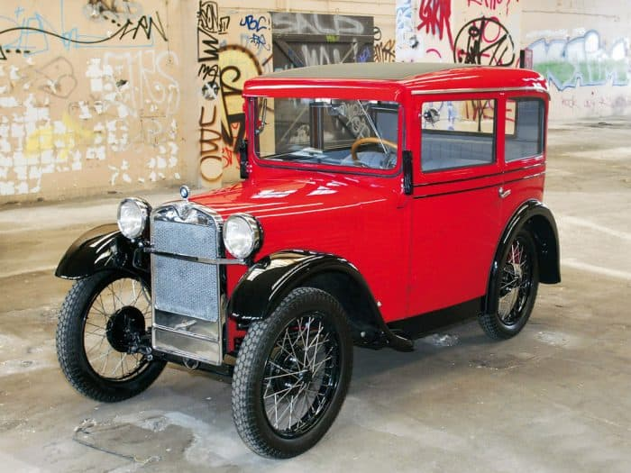 The BMW Dixi was actually and Austin Seven