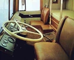 Dodge L Series Coe trucks sleeper bunk interior