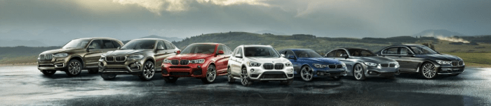 BMW Lineup