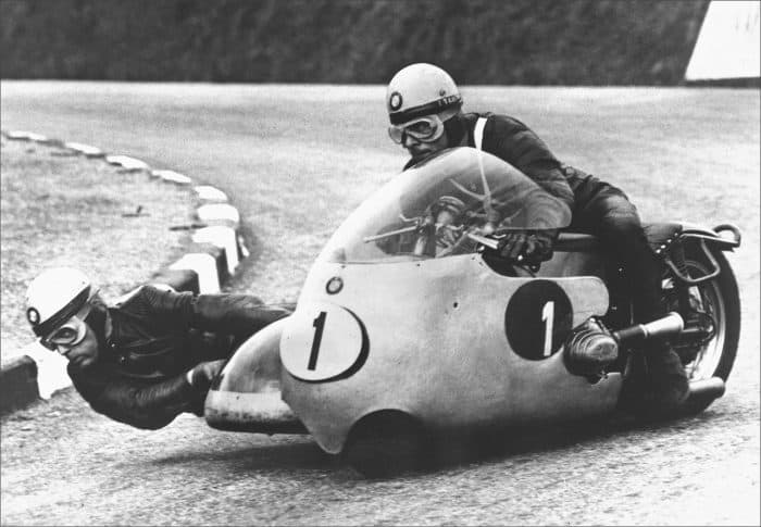 Sidecar racing became a huge passion for BMW after World War 2
