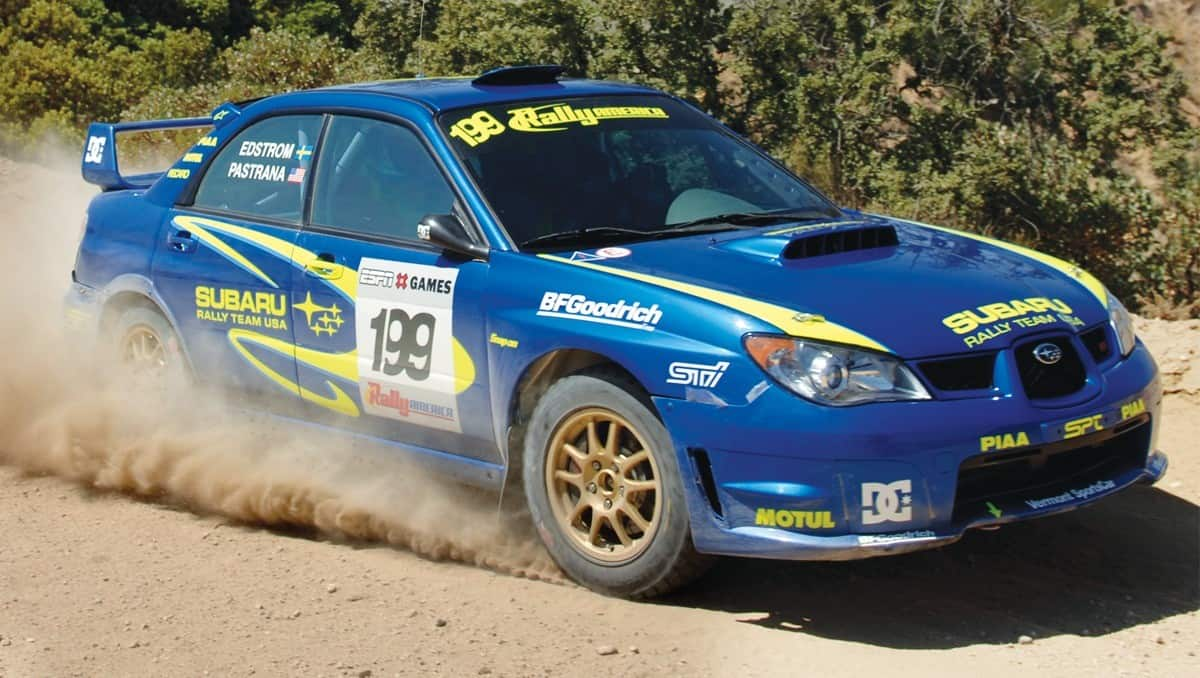 Subaru World Rally Team - performance
