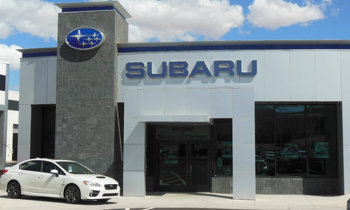Subaru dealership - US