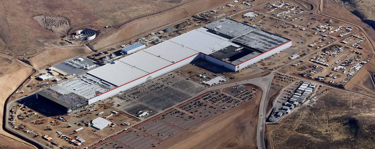 Tesla Gigafactory - Nevada Plant