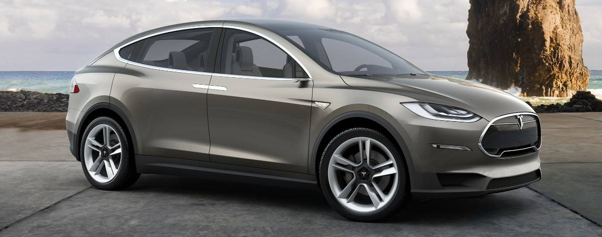 Tesla Model X - right side view