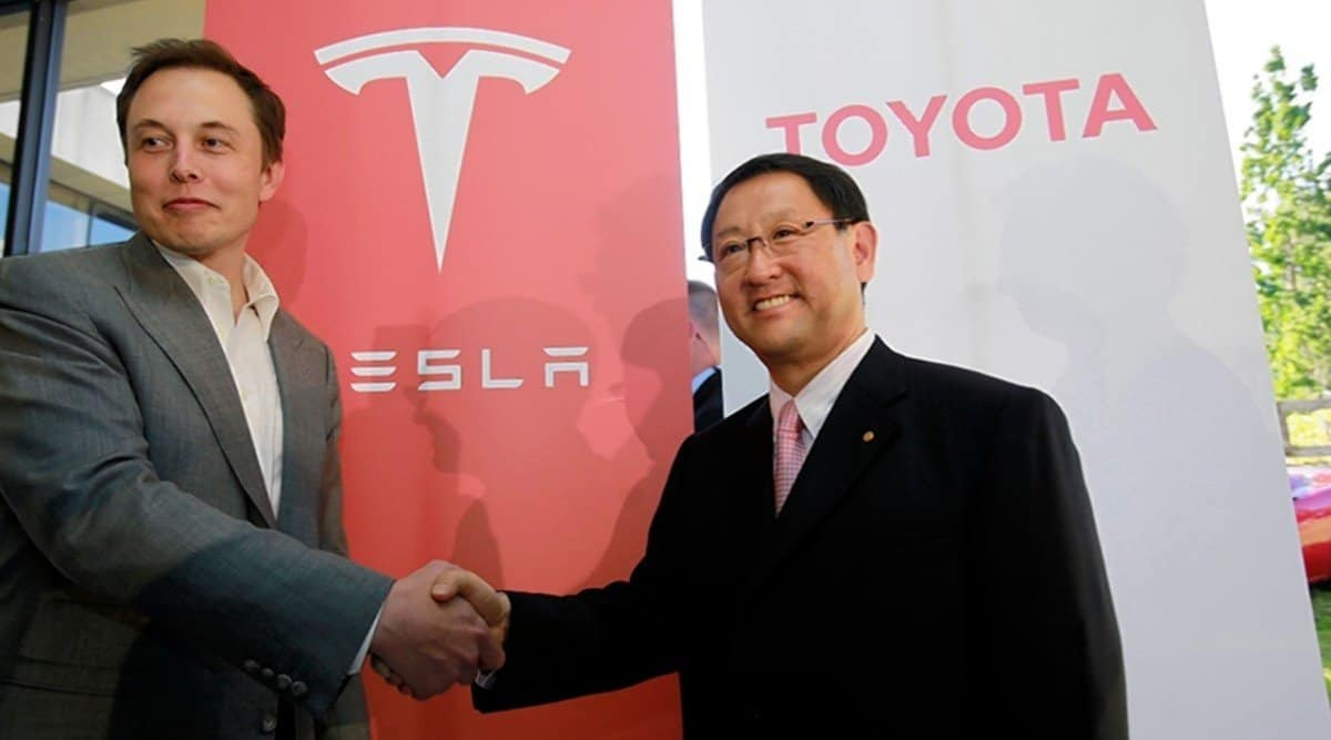 Toyota and Tesla - partnership