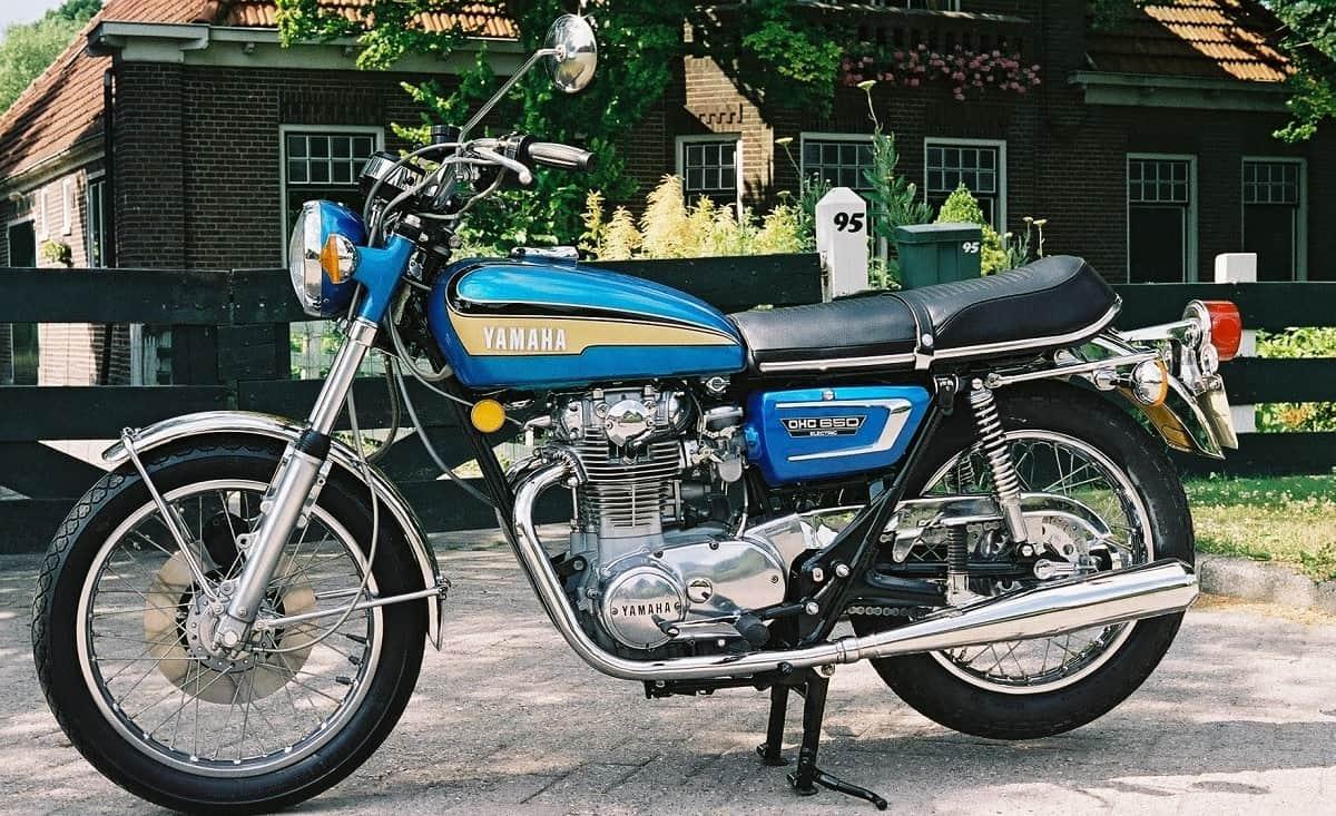 Yamaha XS650 1970
