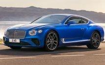 2019 Bentley Continental GT 3/4 view