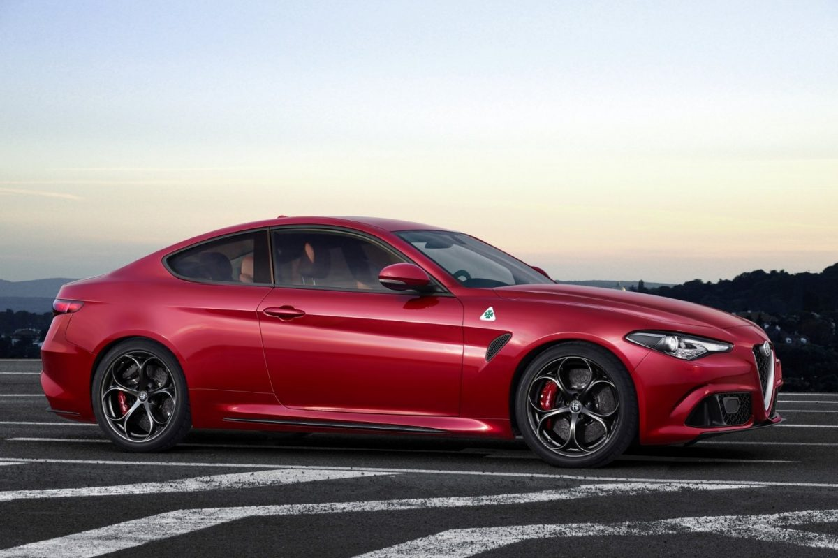 2019 Alfa Romeo Giulia Coupe rendering