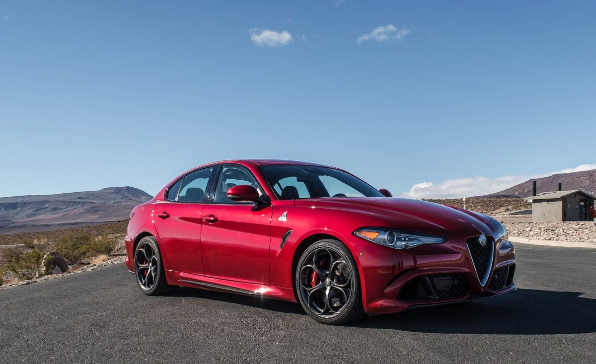 The Alfa Romeo Giulia Quadrifoglio is, hands-down, the most exciting of the upcoming Alfa Romeo cars