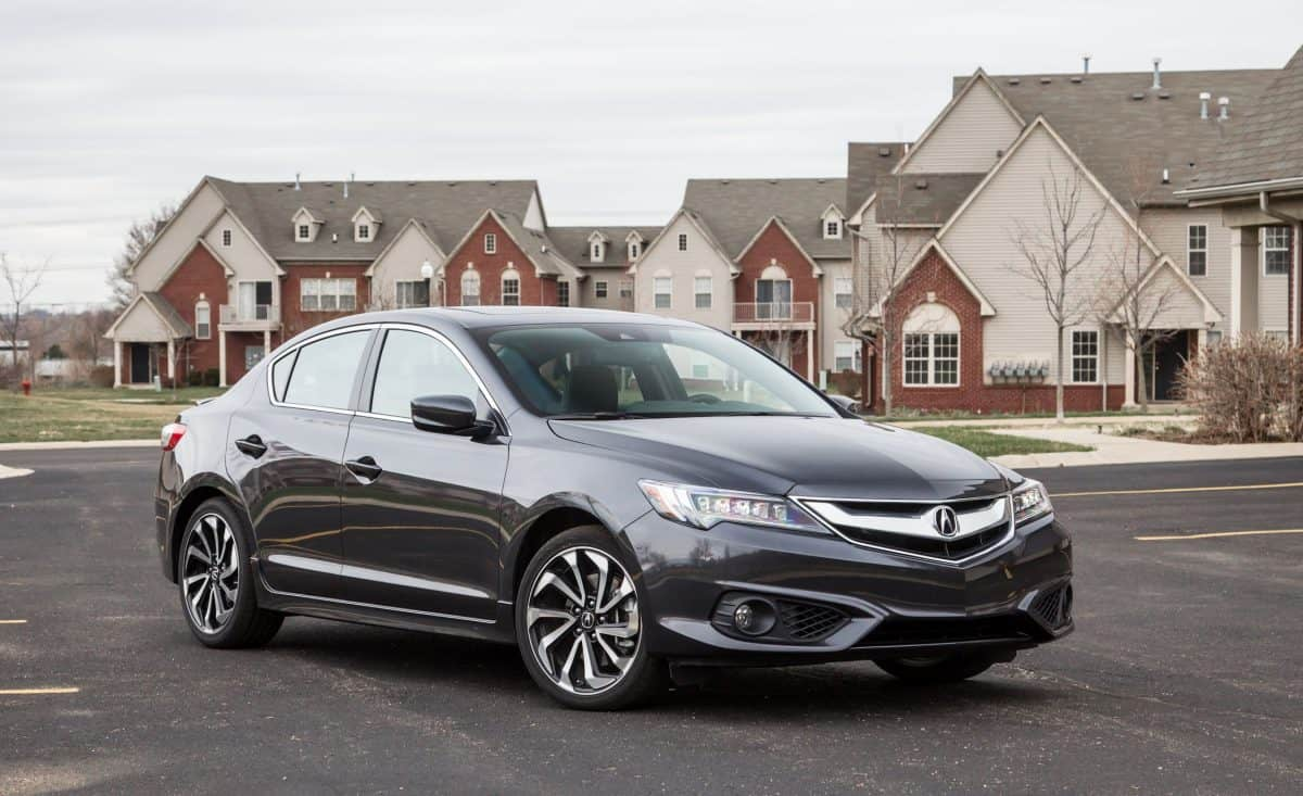 Acura ILX is one of the most outdated 2019 Acura models