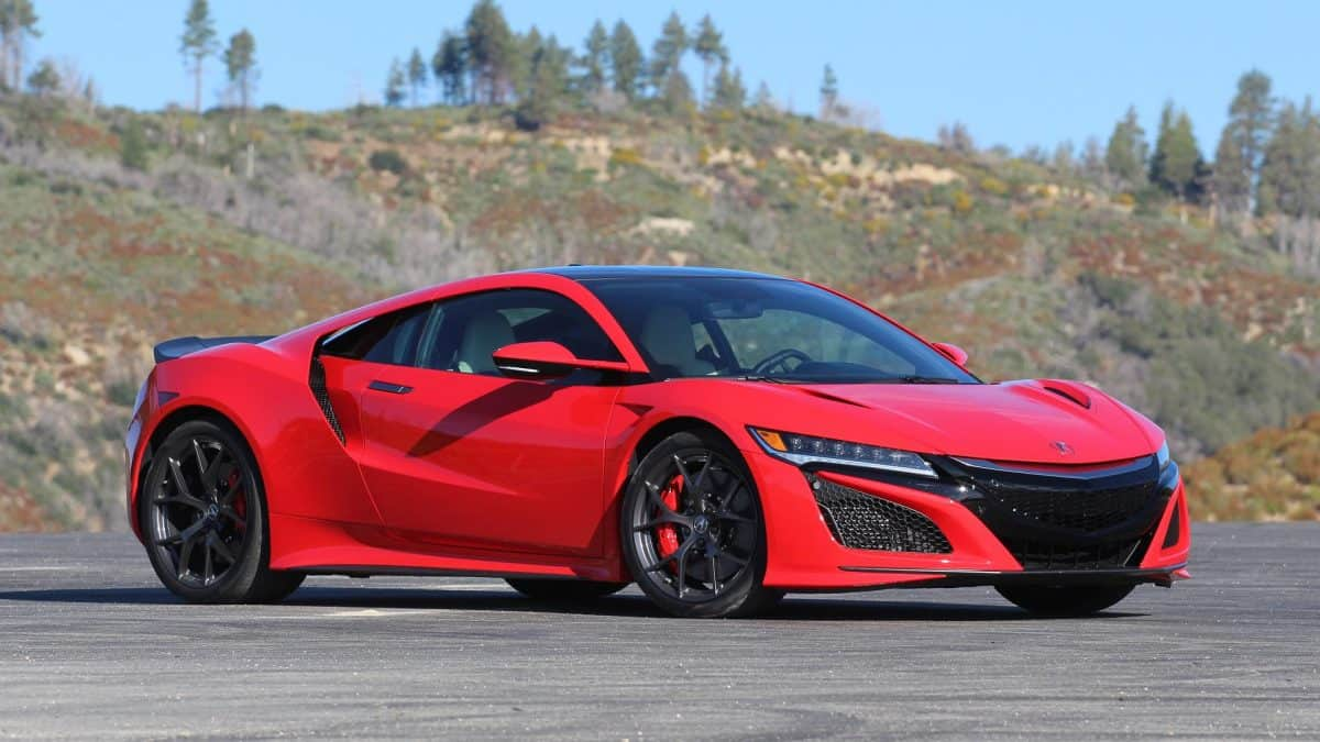 Acura NSX is one of the most exciting 2019 Acura models