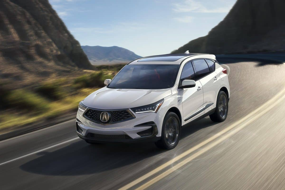2019-year model Acura RDX front 3/4 view