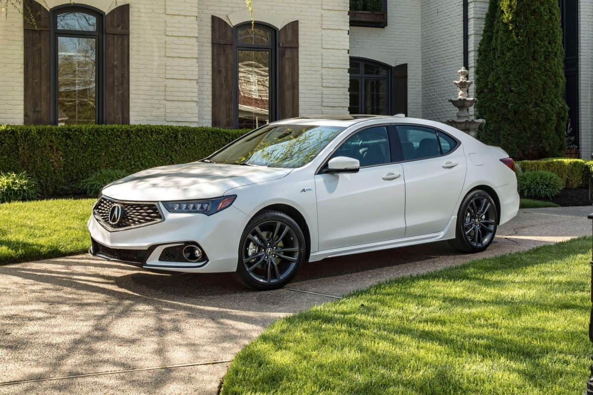 Acura TLX for 2019 3/4 view