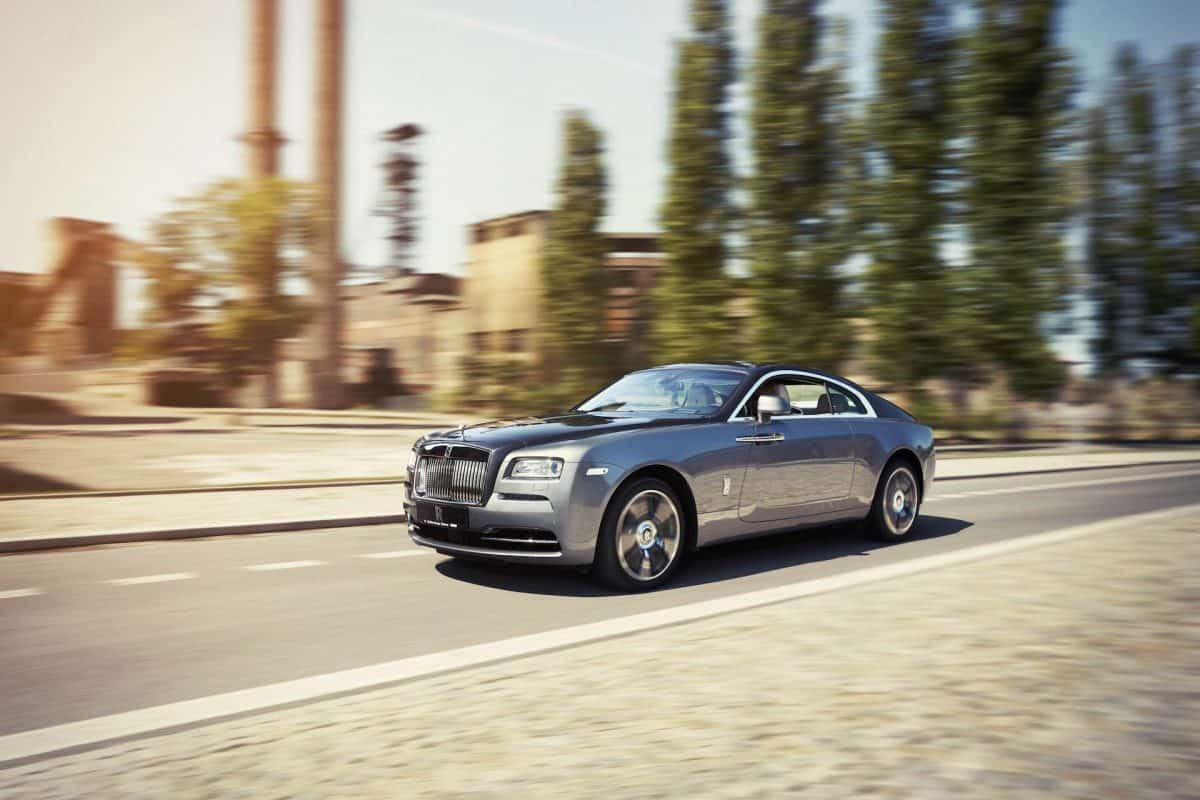 Rolls Royce Wraith 3/4 view