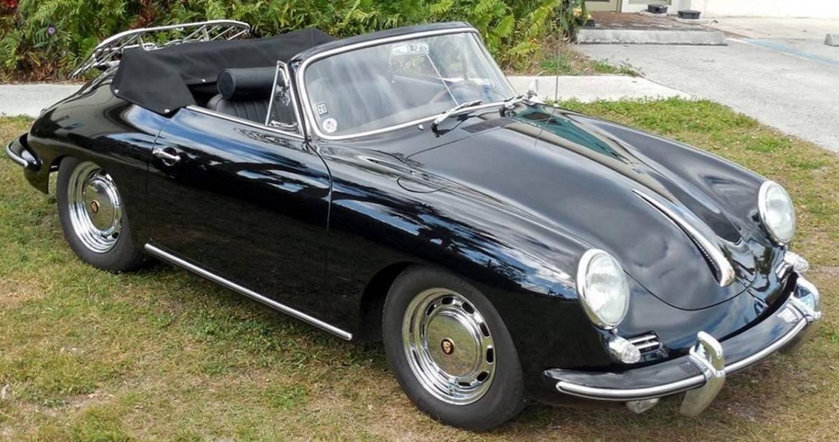Porsche 356 front view