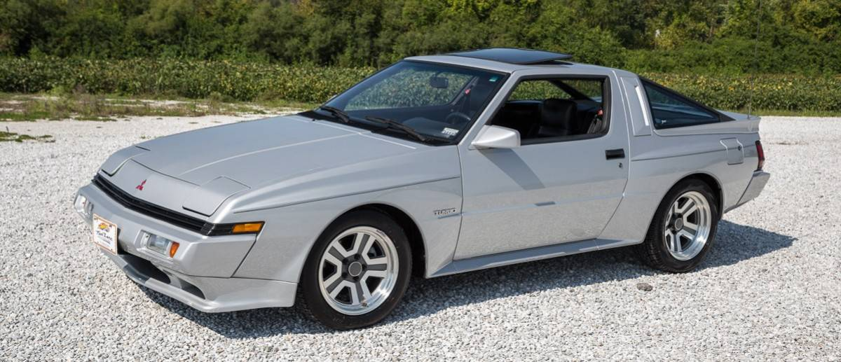 1986 Mitsubishi Starion - drivers side view