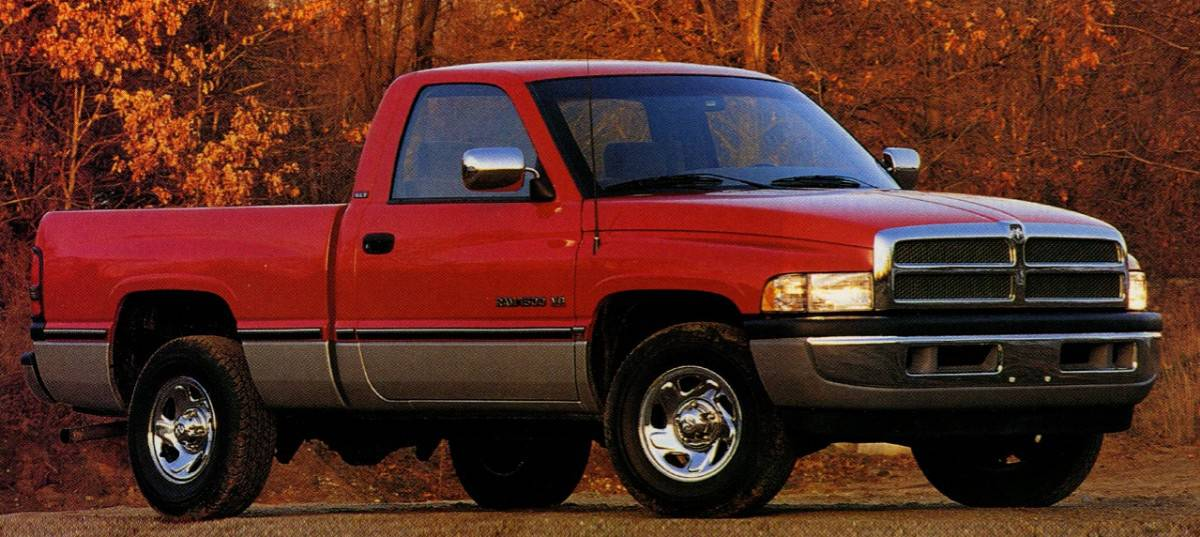 1994 Dodge Ram - right side view
