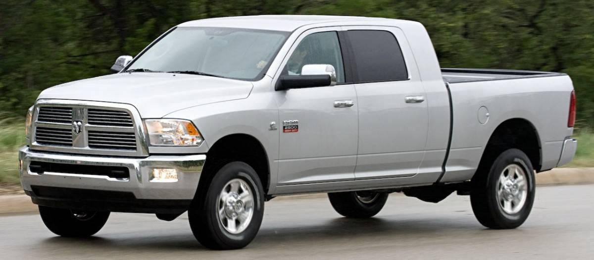 2010 Ram Pickup - left side view