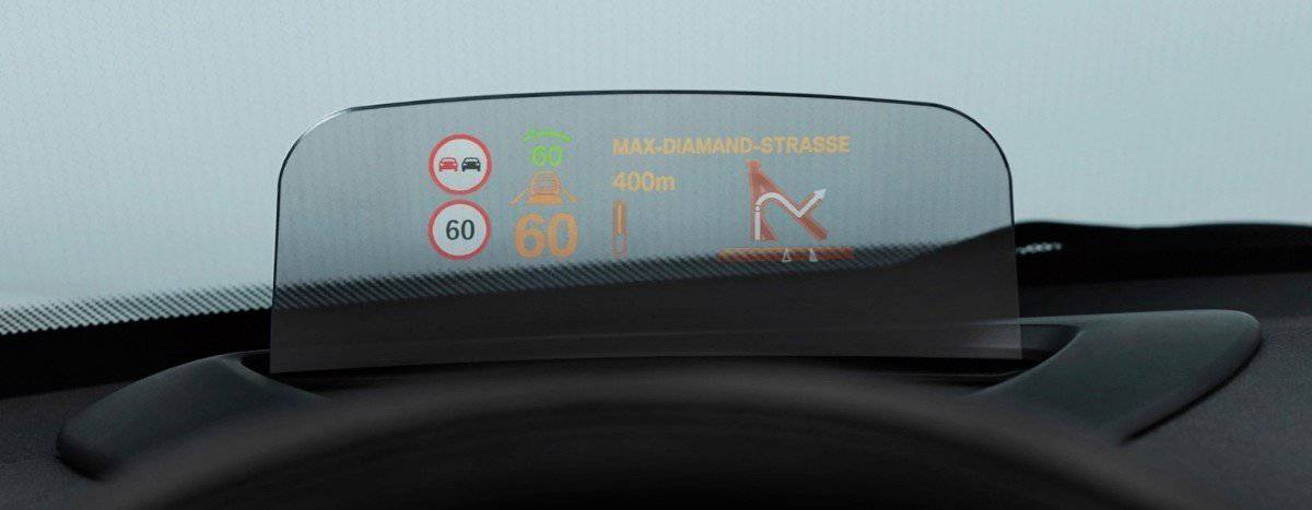 2014 Mini Cooper HUD - safety features