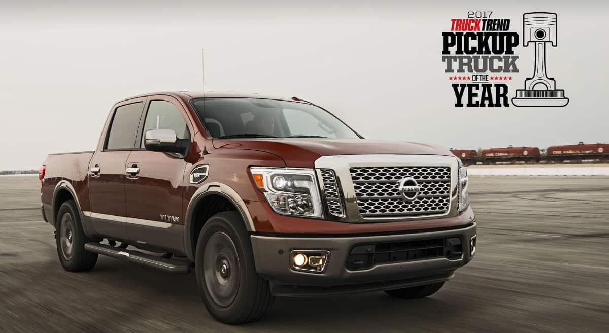 Nissan Titan truck of the year