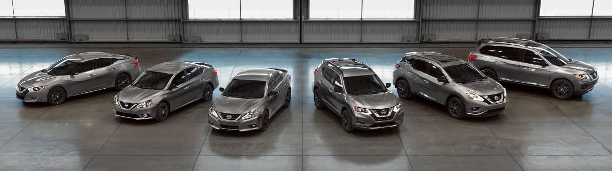Nissan lineup