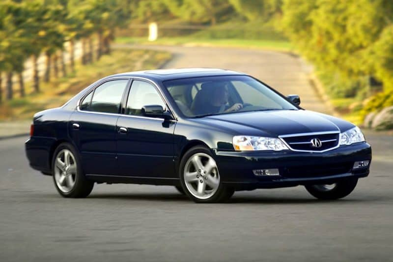 Acura TL Automatic In Motion
