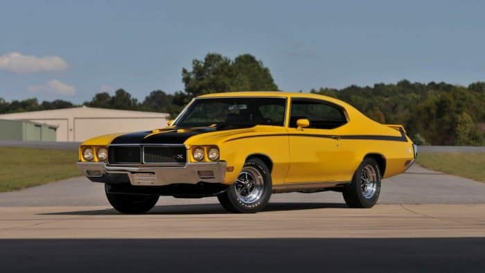 1970 Buick GSX Front 3/4