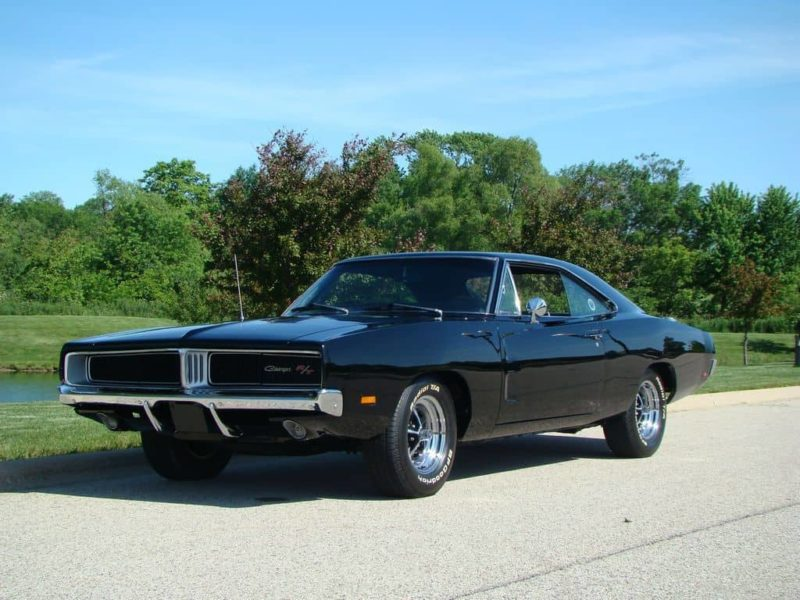 1969 Dodge Charger Front 3/4