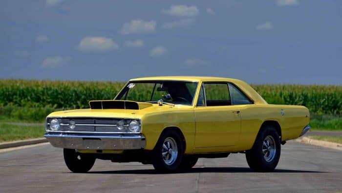 1968 Dodge Dart 426 Hemi Front 3/4