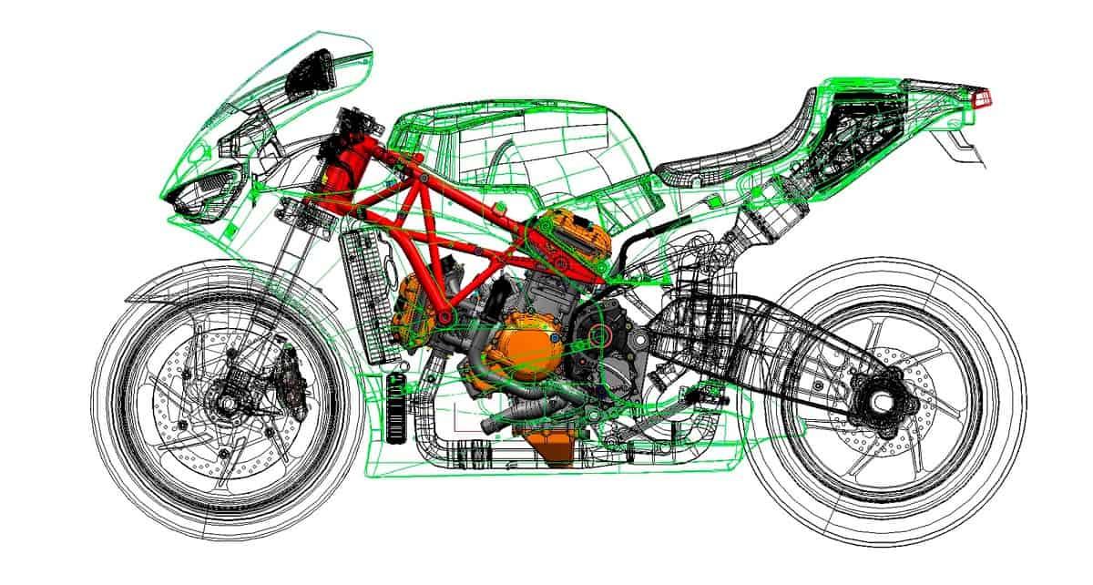 Ducati Cutaway