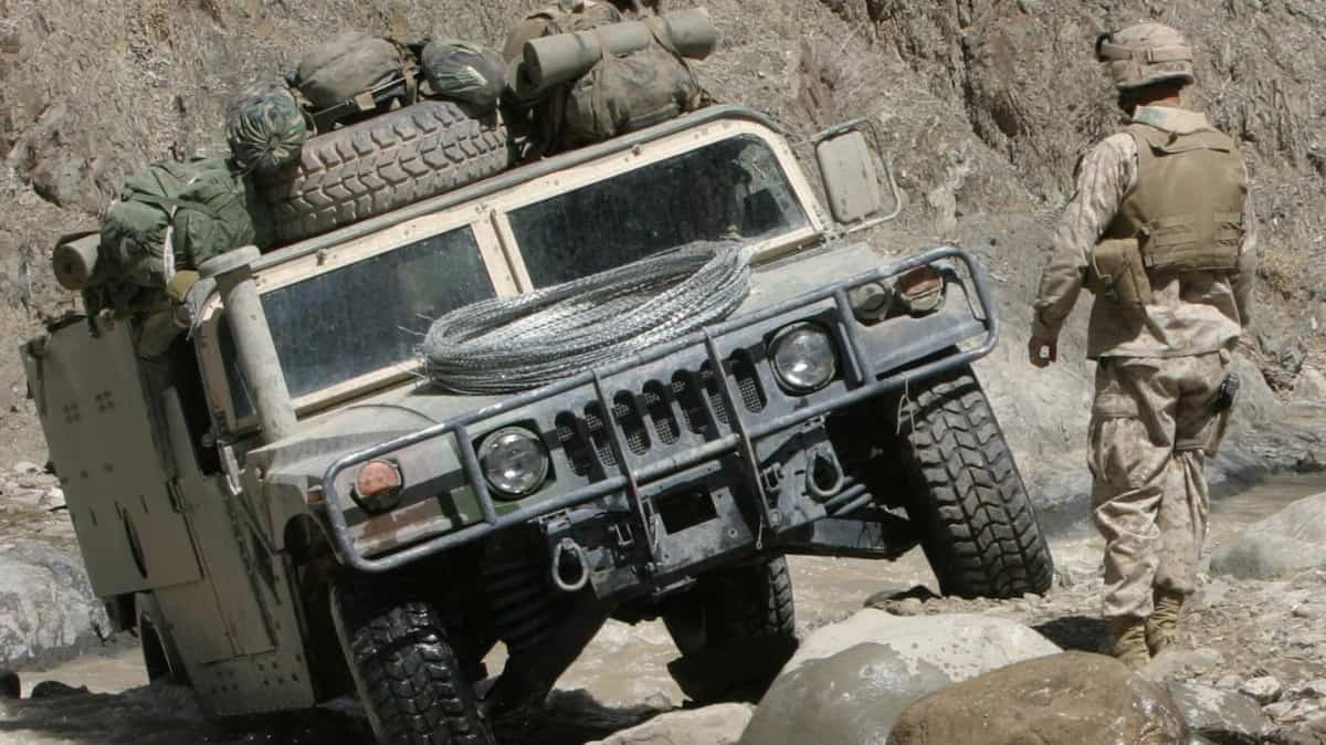 AM General Humvee - front view