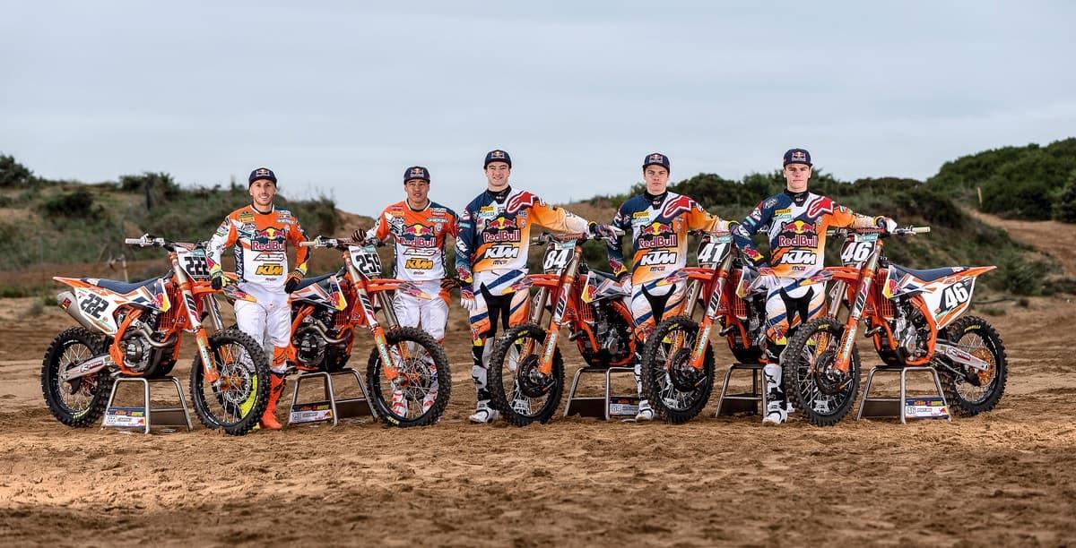 KTM MX Team