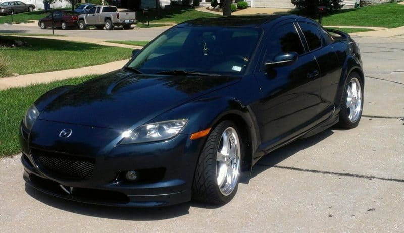 Mazda RX-8 Front View