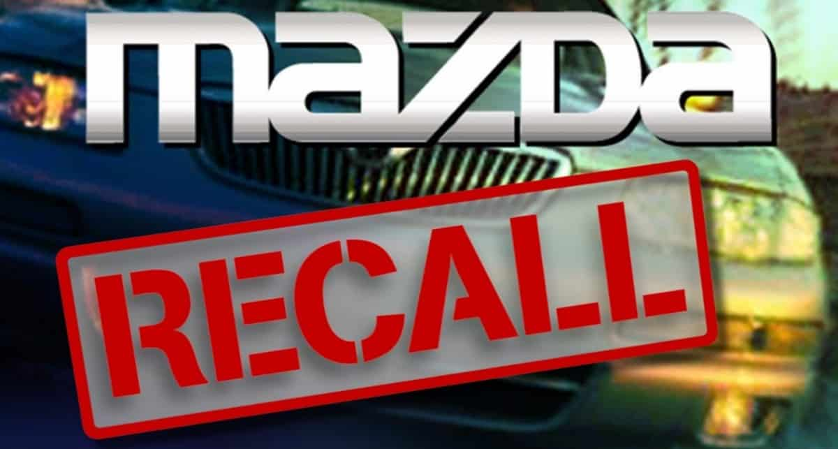 Mazda6 recall