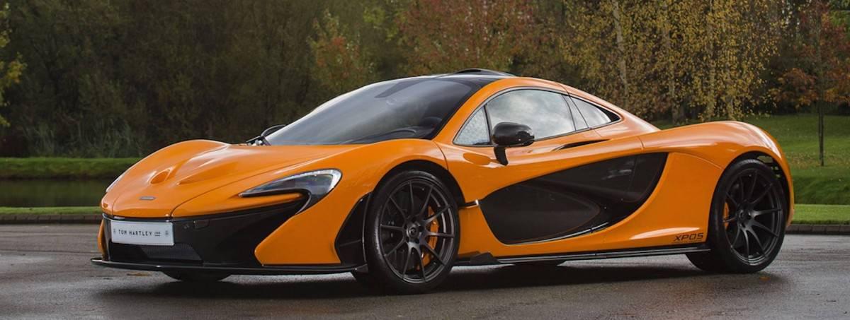 McLaren P1 left side view