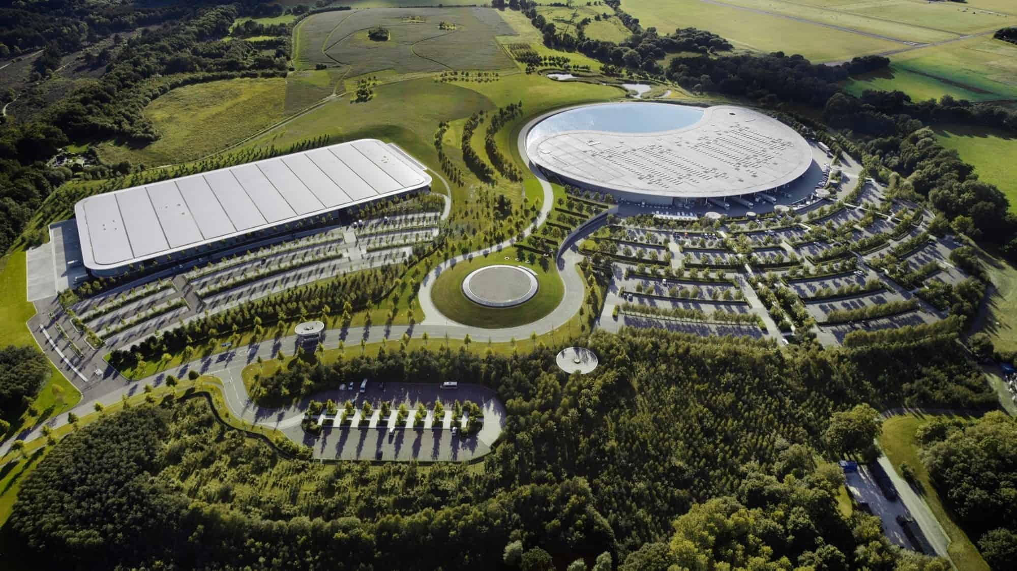 McLaren Technology Center - Surrey England