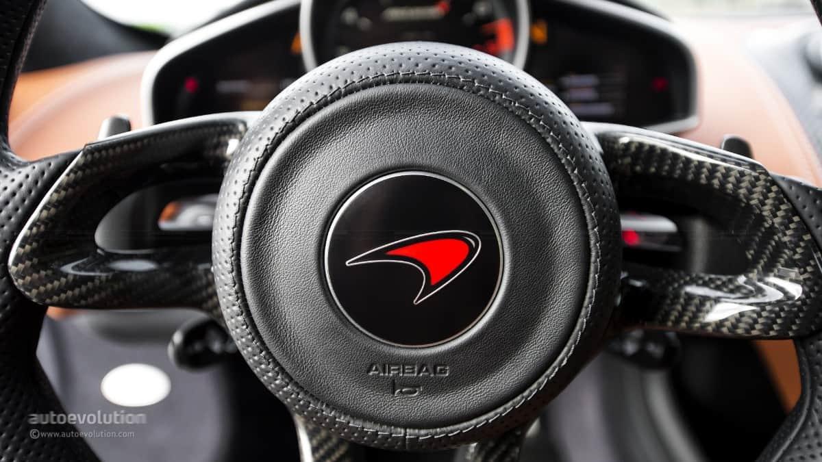McLaren airbag recall